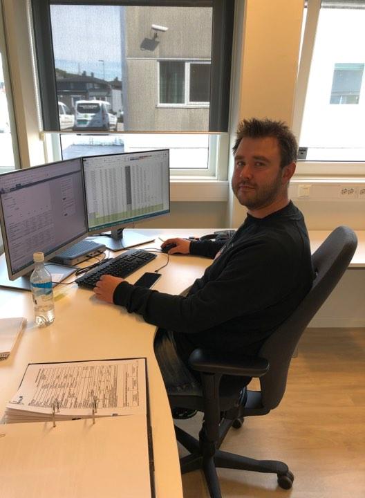 På Kontoret: Oddbjørn Bugge