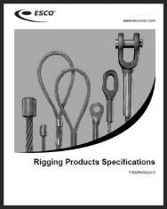 ESCO Rigging - Catalog