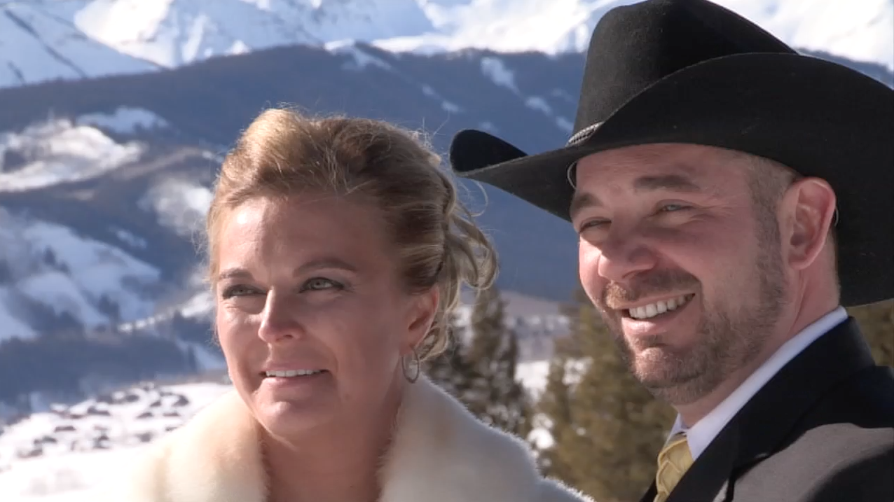Screenshot form wedding video