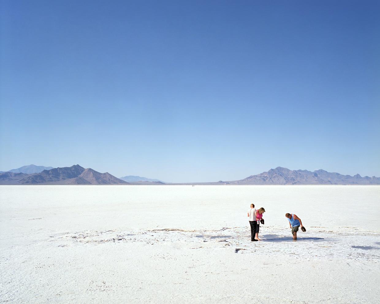 At the Salt Flats