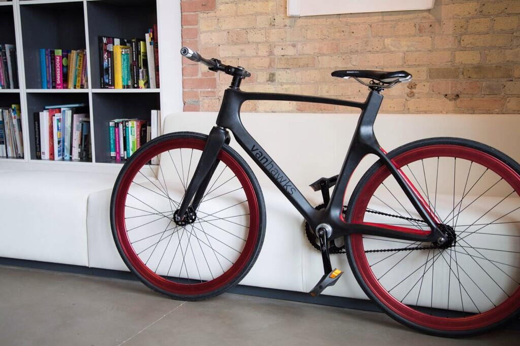 COCA 201 student Ali Zahid is creating a Kickstarter project to create a new type of bicycle.