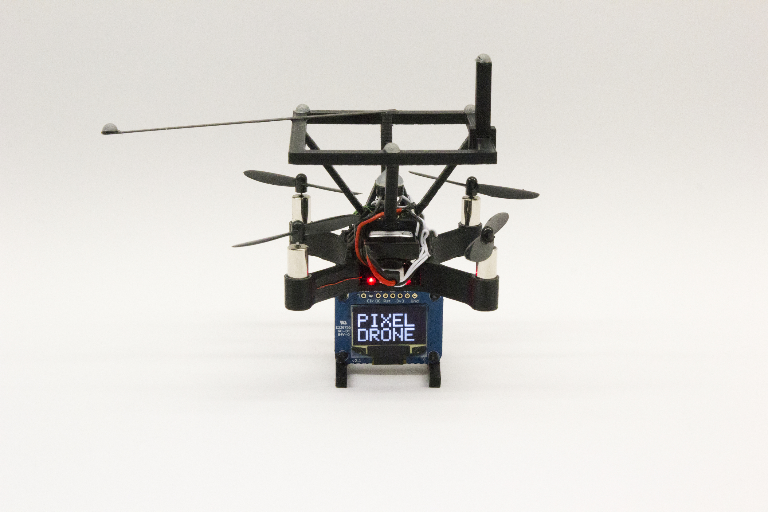 BitDrones (2015): PixelDrone with dot-matrix display.