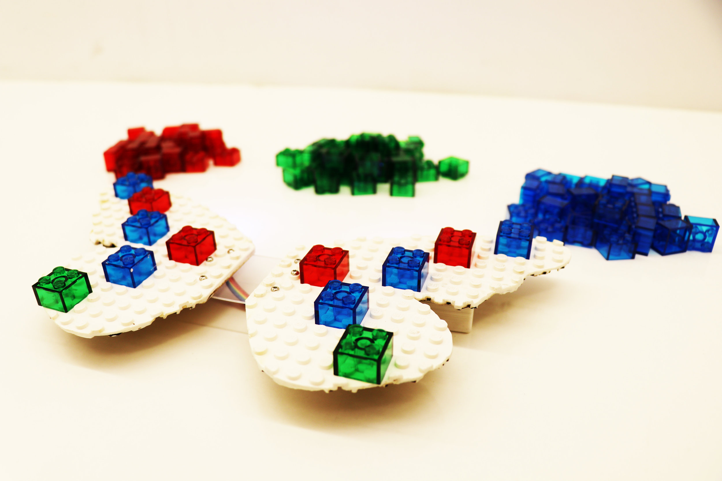 butterfly controller with bricks
