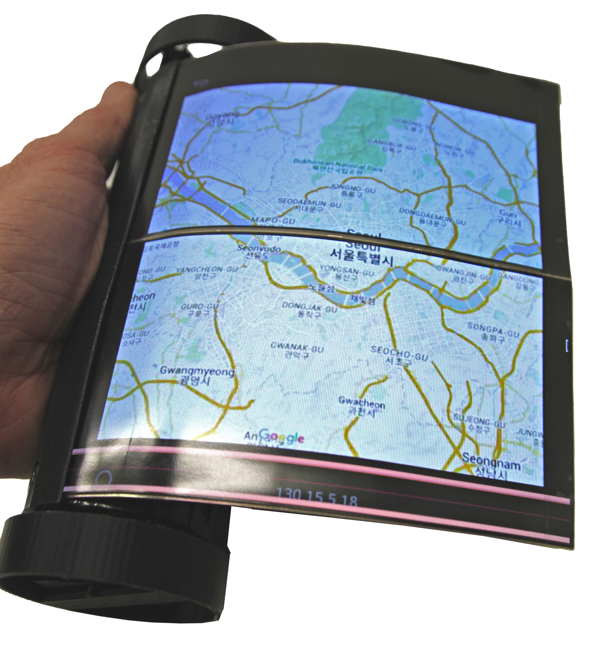 MagicScroll Unrolled One-handed Maps