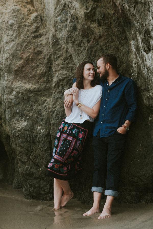 Casey + Joey Couple Portraits | Malibu, California