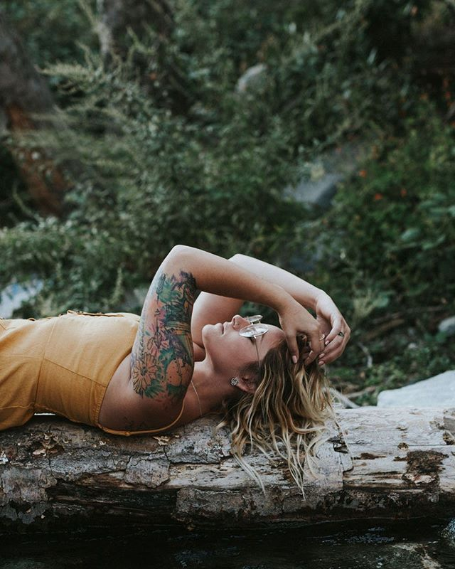 An interview + photos in the California mountains with Karli Francis are on the blog today - check em out ;)