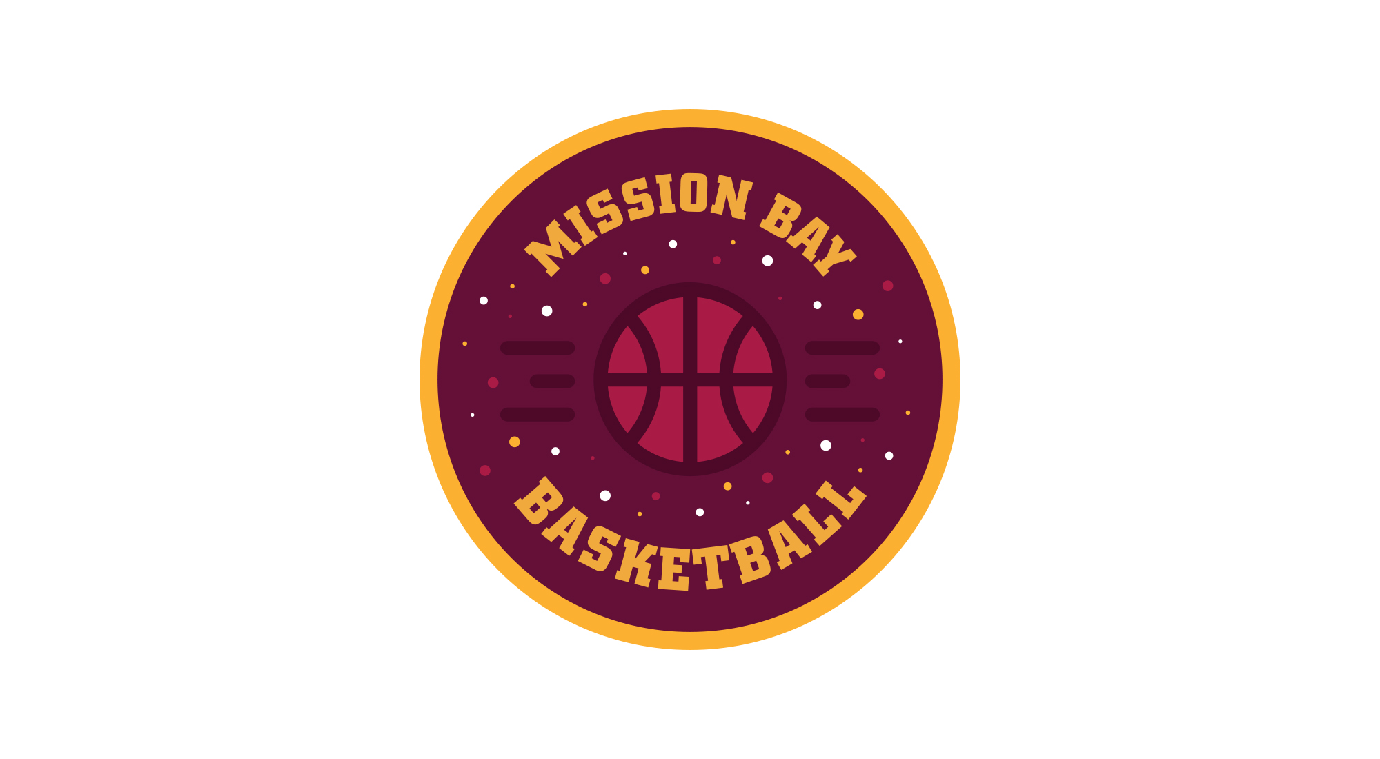 Mission Bay Basketball Logo
