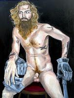 "Mad Max , Melissa Carroll, 2010, oil on canvas, 60""x48"""
