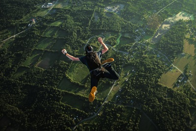 Base Jumper - Anthony Puopolo