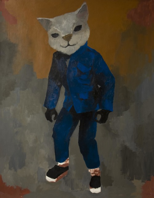 Henry , 2013, 60 x44, Acrylic on paper