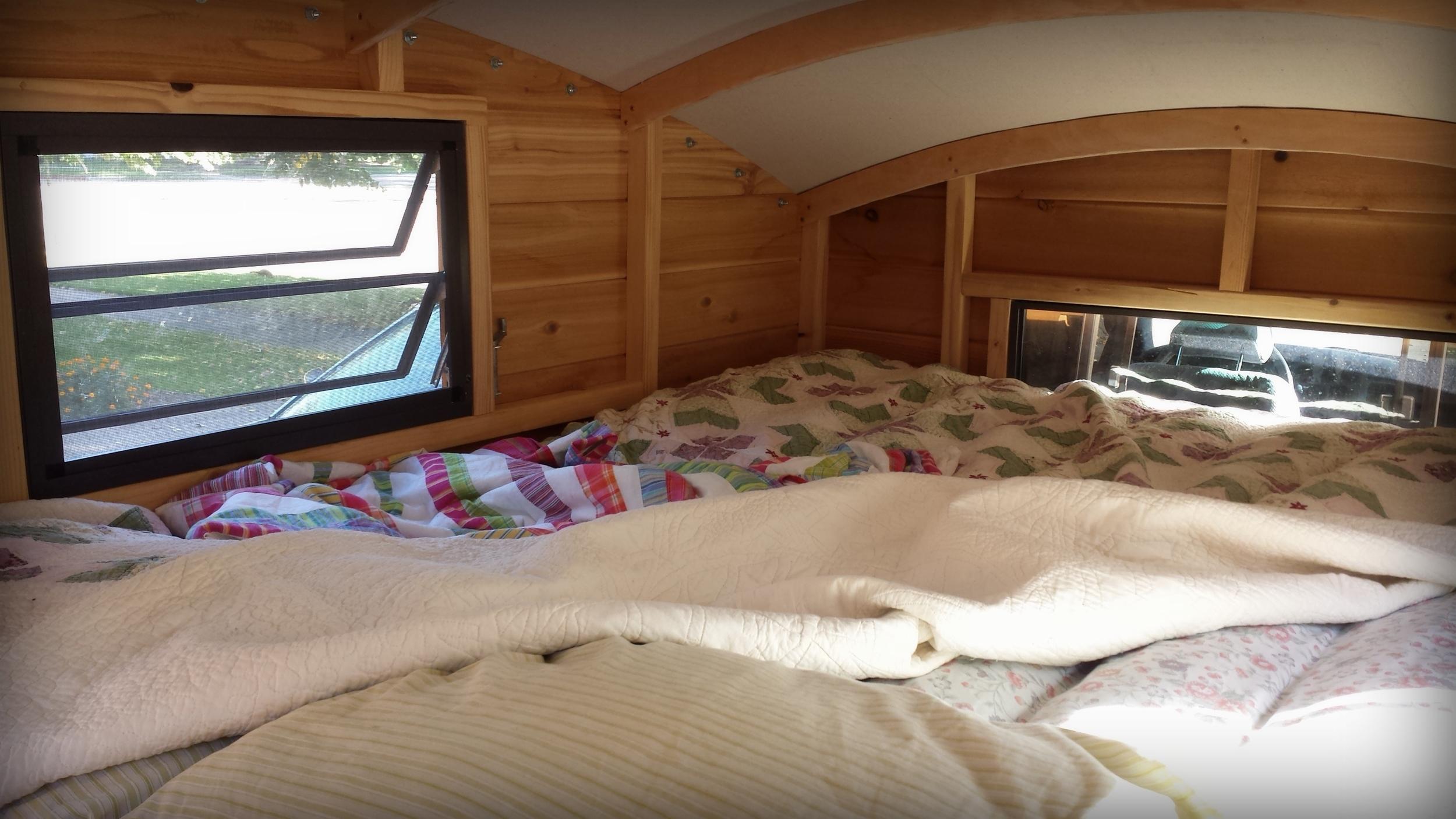 Half Shell interior