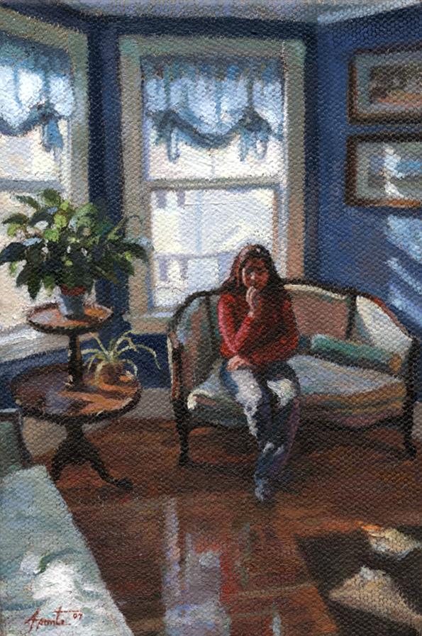 Barbara in Winter Light