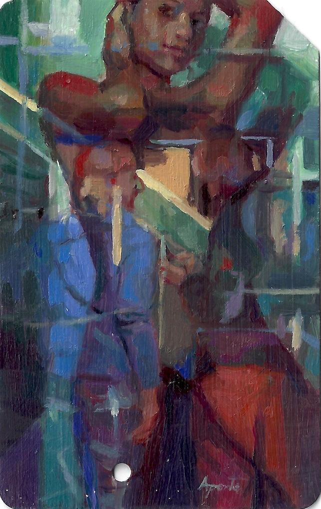 Painted Metrocard 5