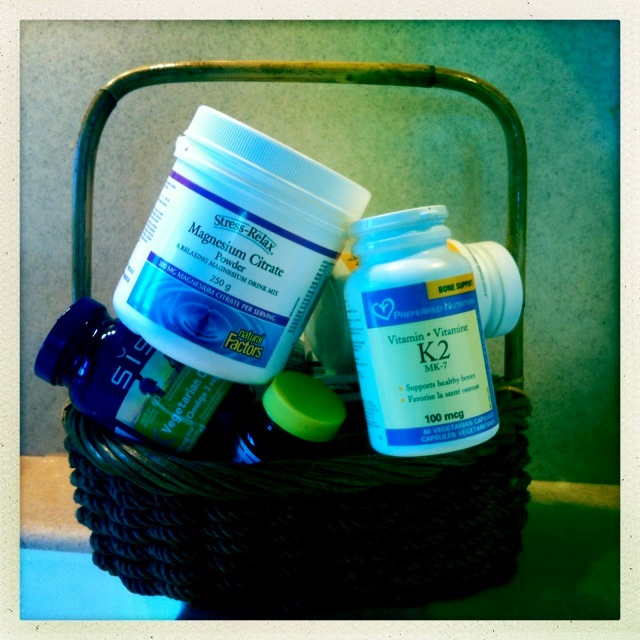 Does your supplement basket overfloweth??