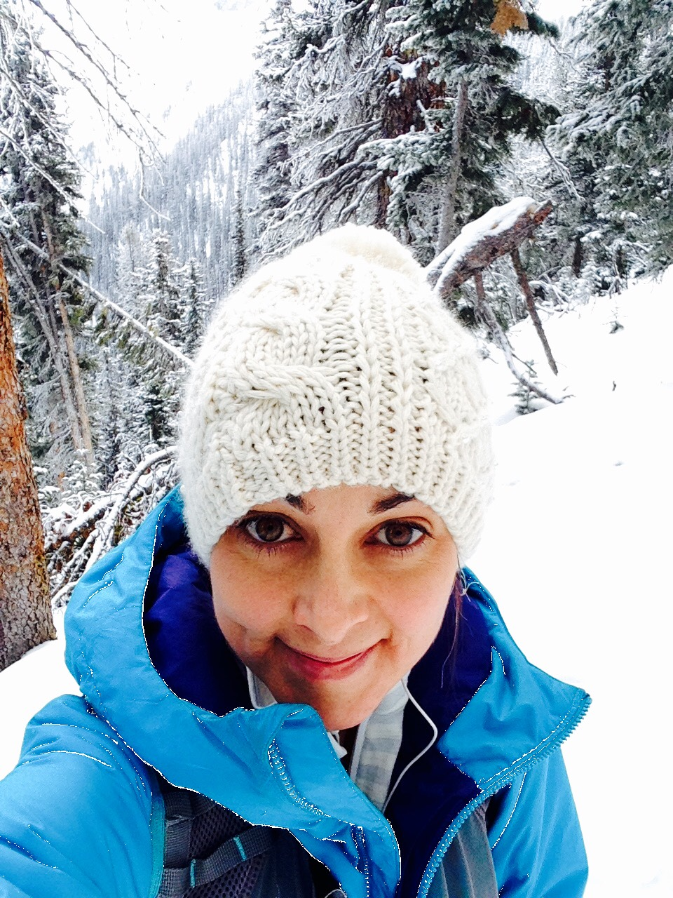 A good hike in the fresh air during a moment of calm...restorative and refreshing in the -20 temps!