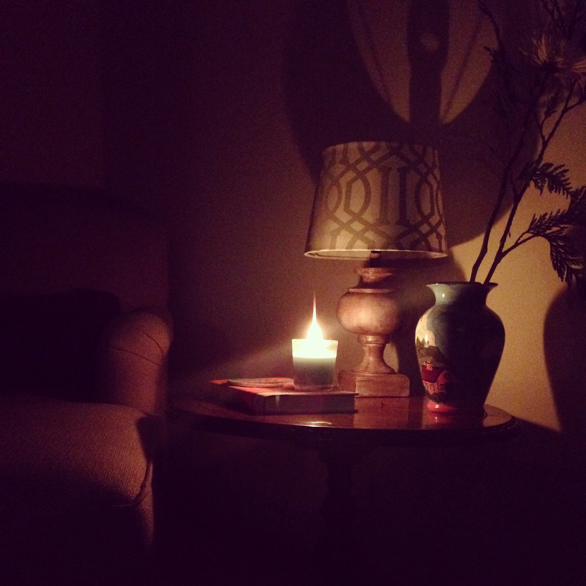 Set the stage...it's not just about the gentle movement of restorative yoga, it's about creating an atmosphere of calm. I find it makes a big difference when I turn on my infuser and light some candles. Ahhh... zen never felt so good.