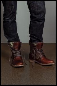 Simple, but aesthetically pleasing.   Keep things brown or black.