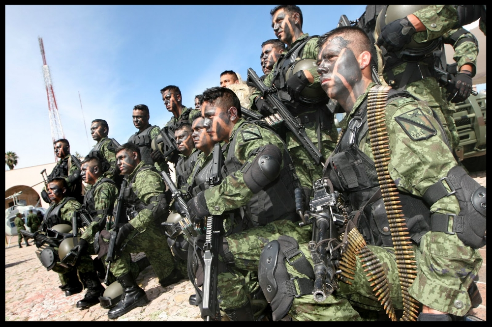 Mexican Military. S ource: Taringa!