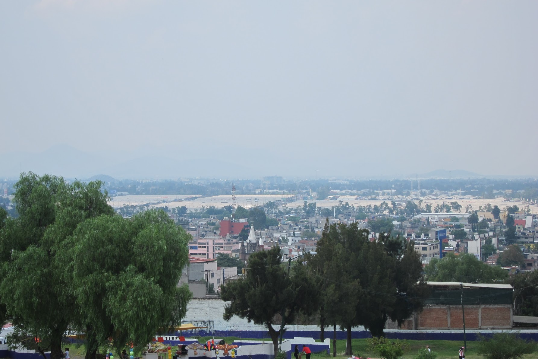 View from Iztapalapa.