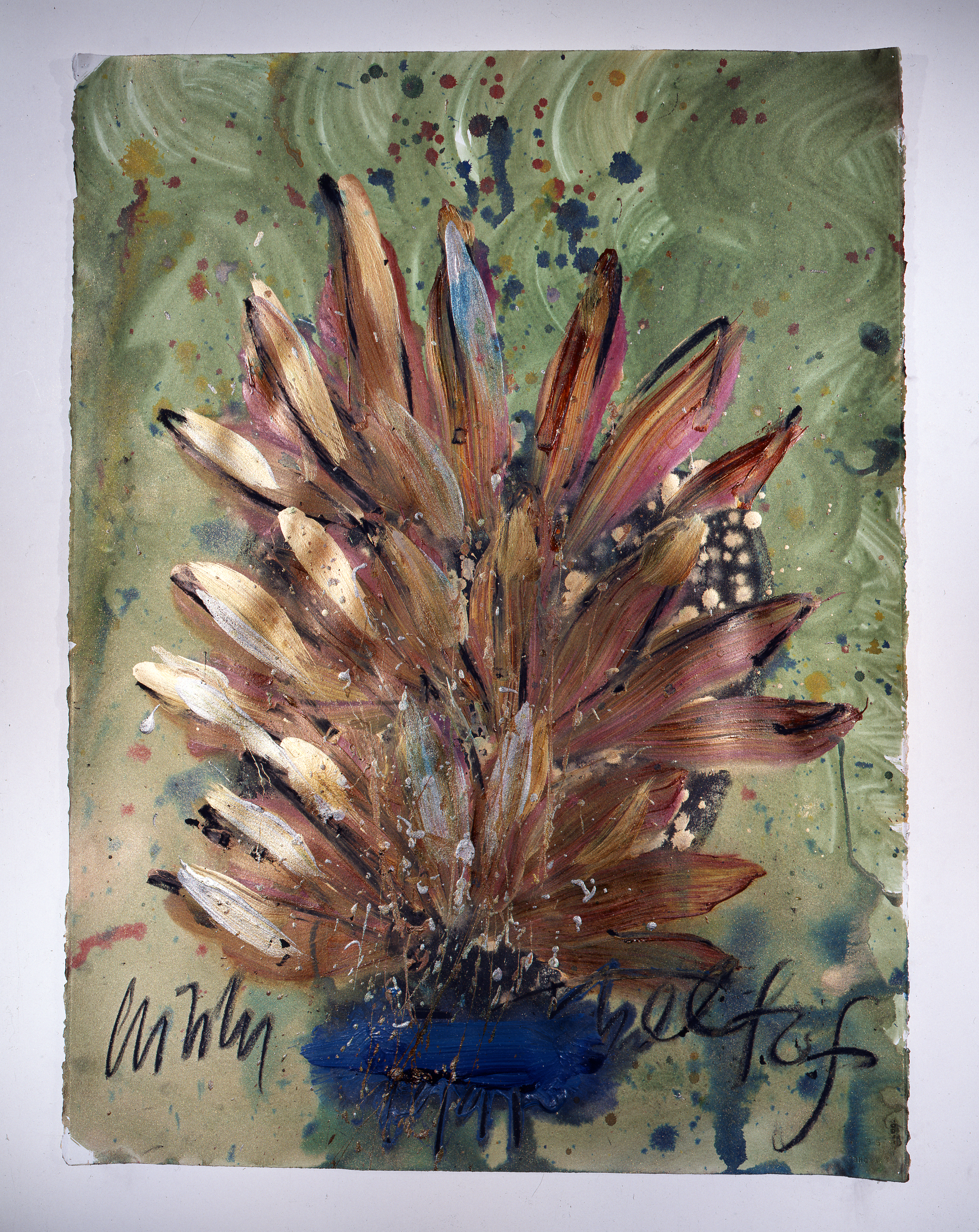 Dale Chihuly,  Ebeltoft Drawing,  (1991, mixed media on paper, 30 x 22 inches), DC.341