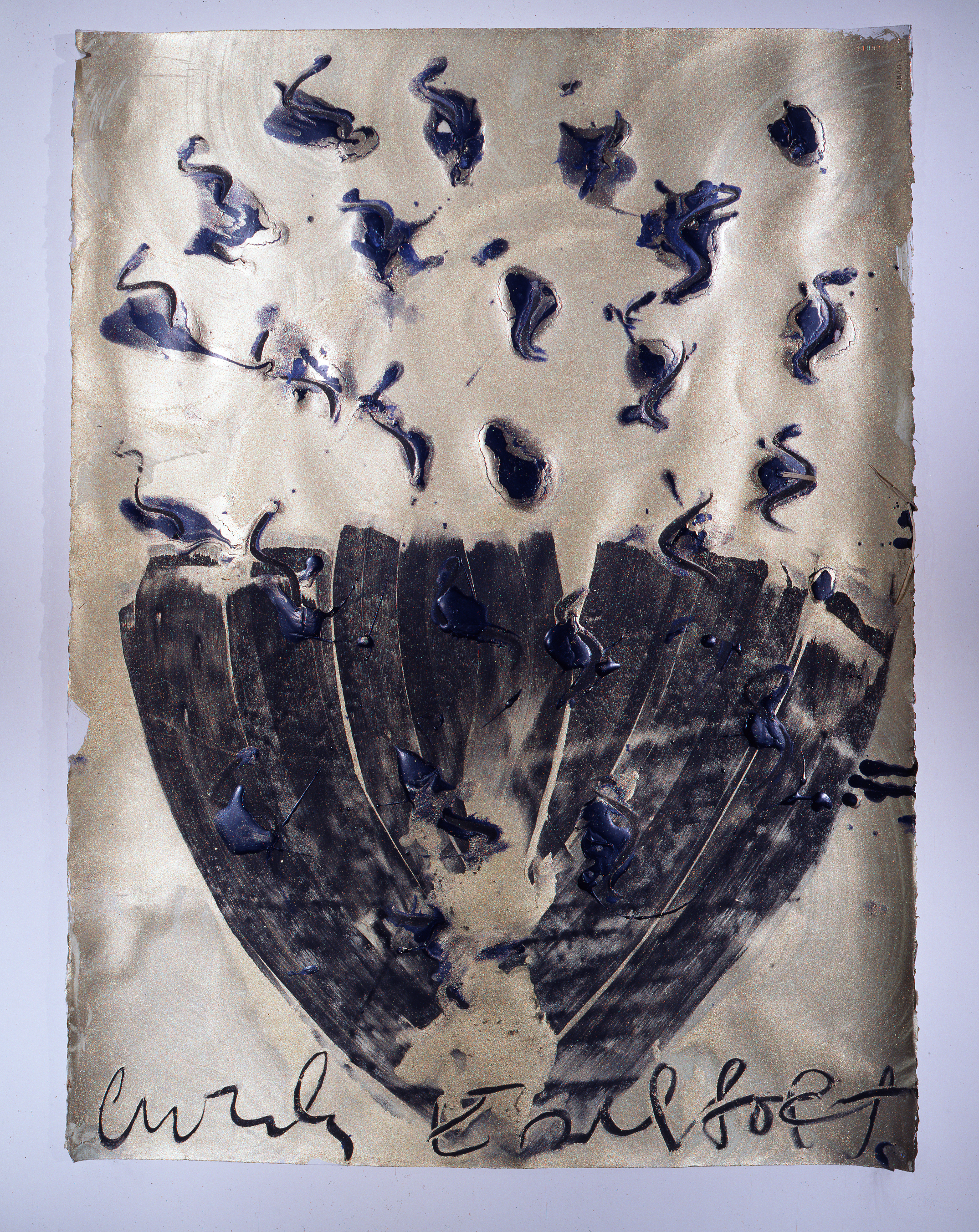 Dale Chihuly, Ebeltoft Drawing, (1991, mixed media on paper, 30 x 22 inches), DC.342