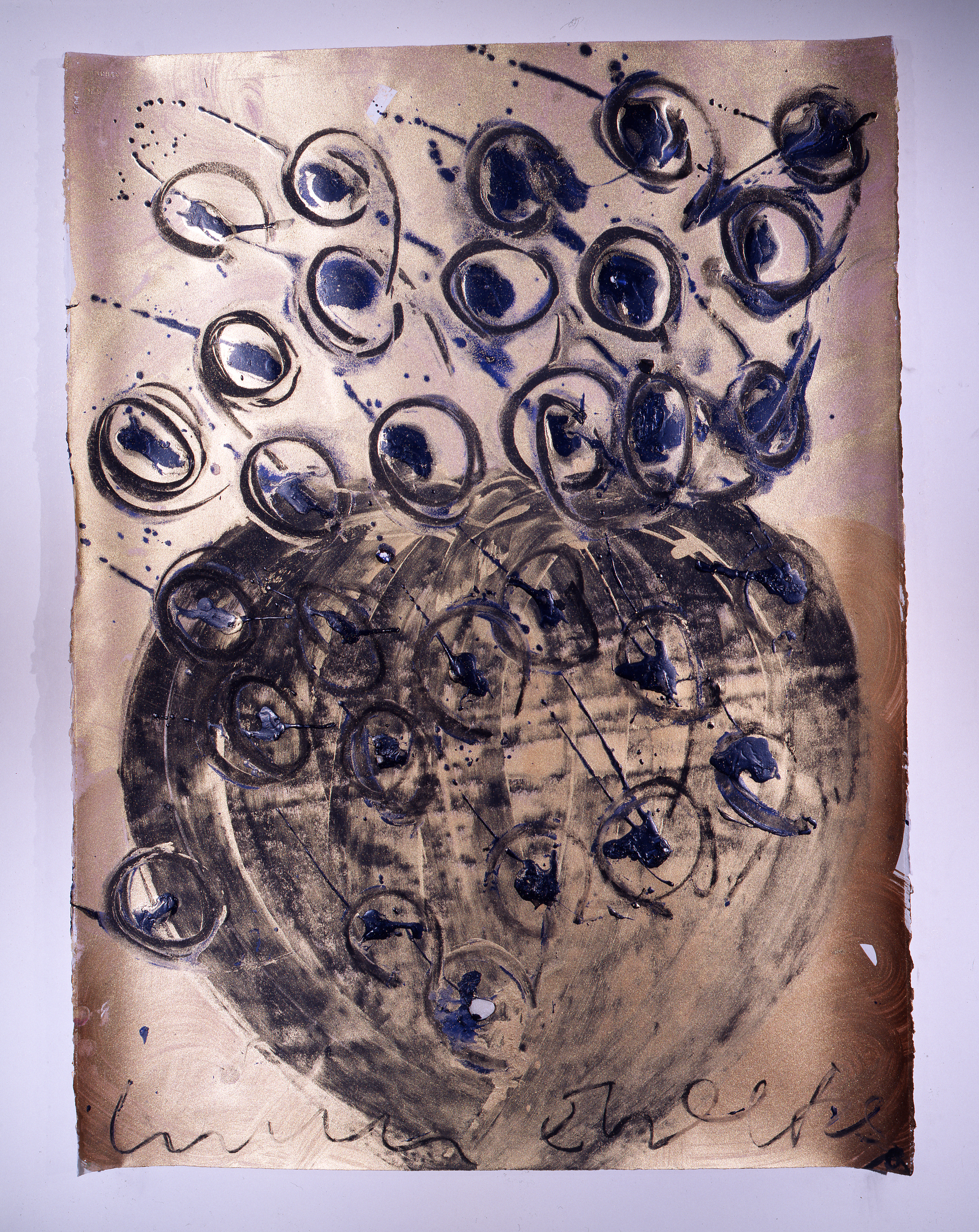 Dale Chihuly,  Ebeltoft Drawing,  (1991, mixed media on paper, 30 x 22 inches), DC.359