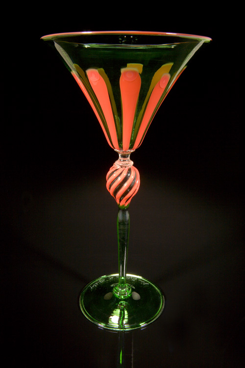 Lino Tagliapietra, Goblet (1991-1994, glass, 9 x 5 x 5 inches), LT.37