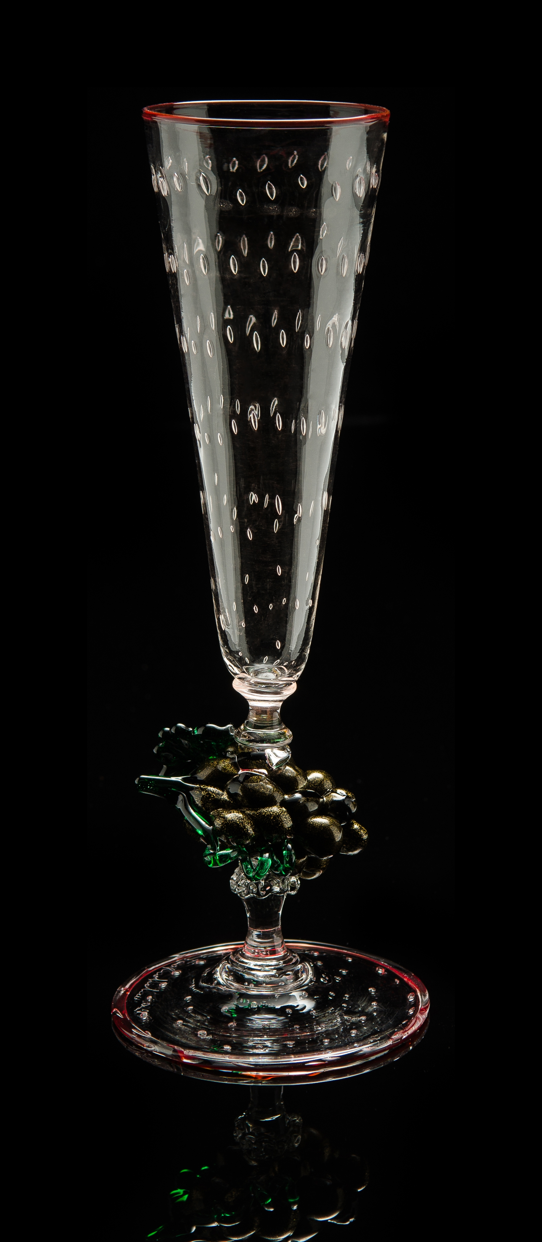 Lino Tagliapietra,  Goblet  (1991-1994, glass, 10 1/4 x 3 1/4 x 3 1/4 inches), LT.86
