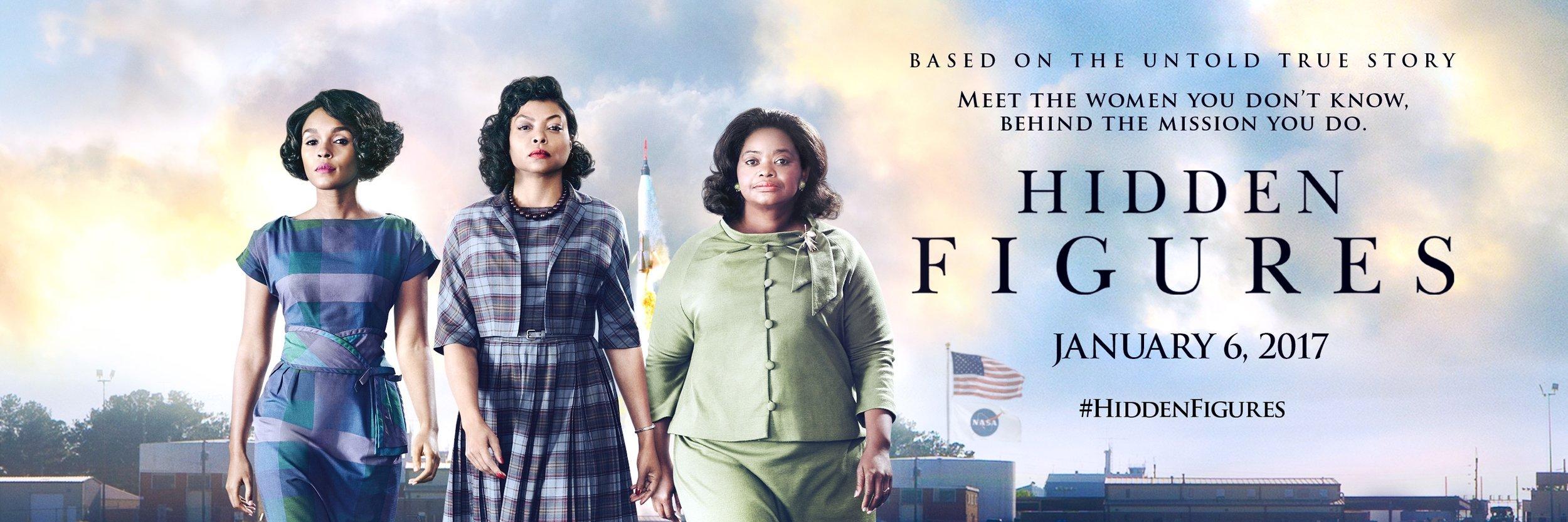 #HiddenFiguresMovie Premieres January 6, 2017!