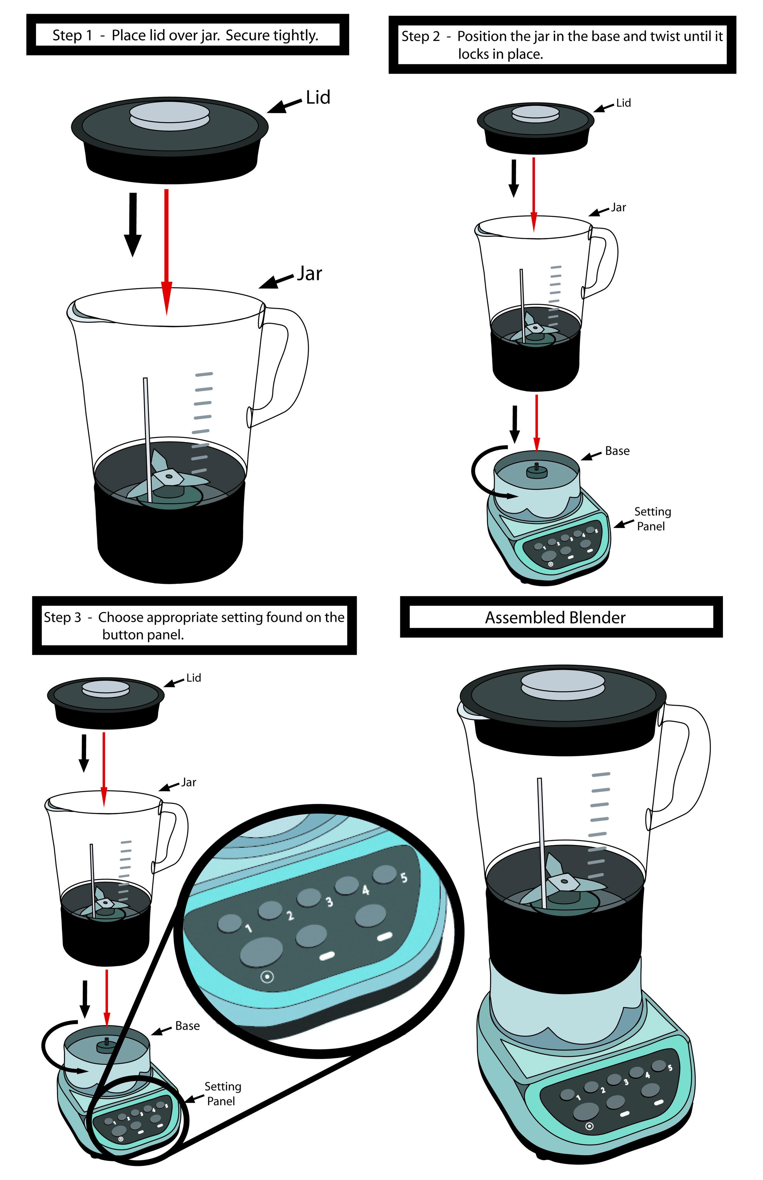 Blender Instructions