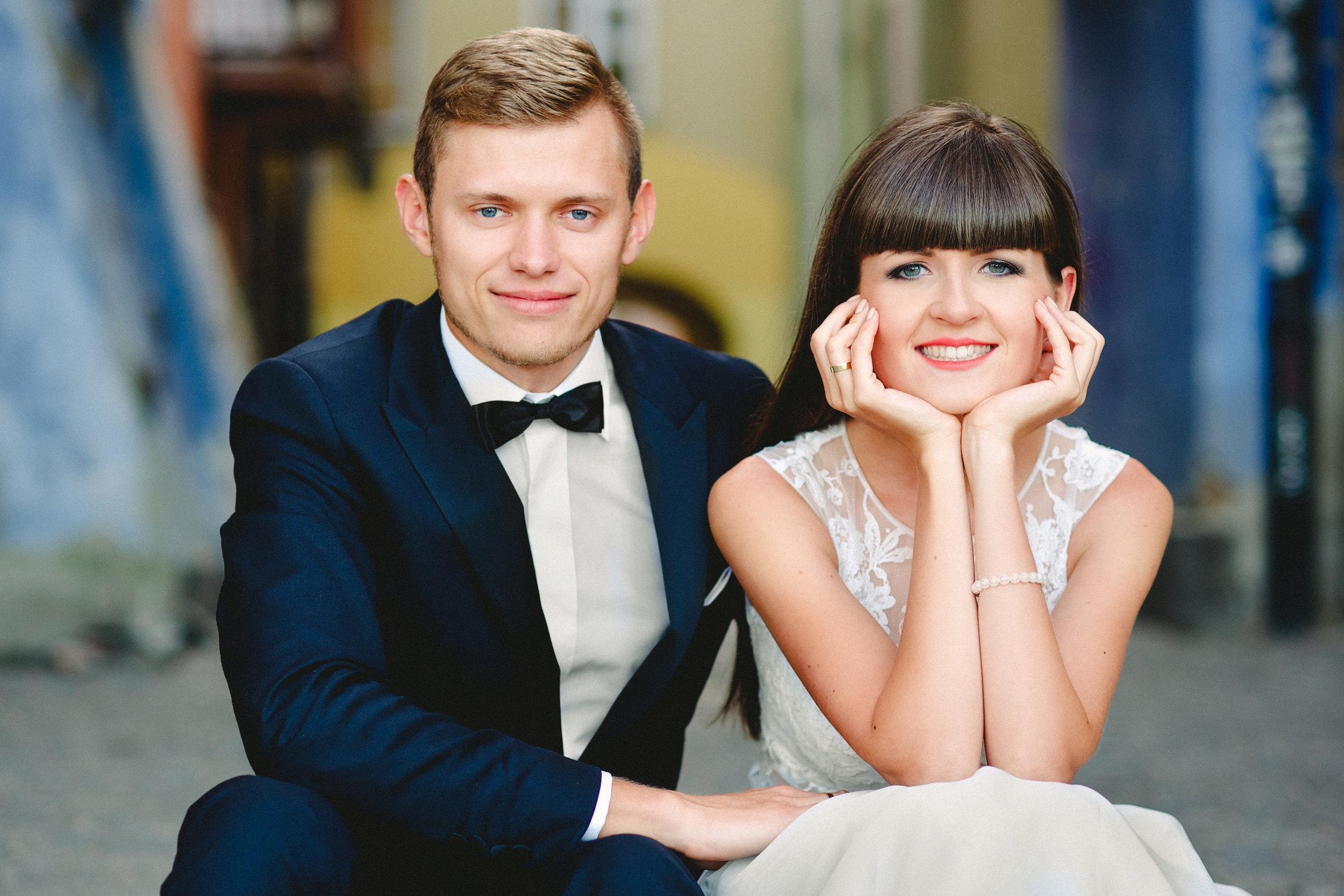 Iz + Mar - sesja poślubna w Warszawie