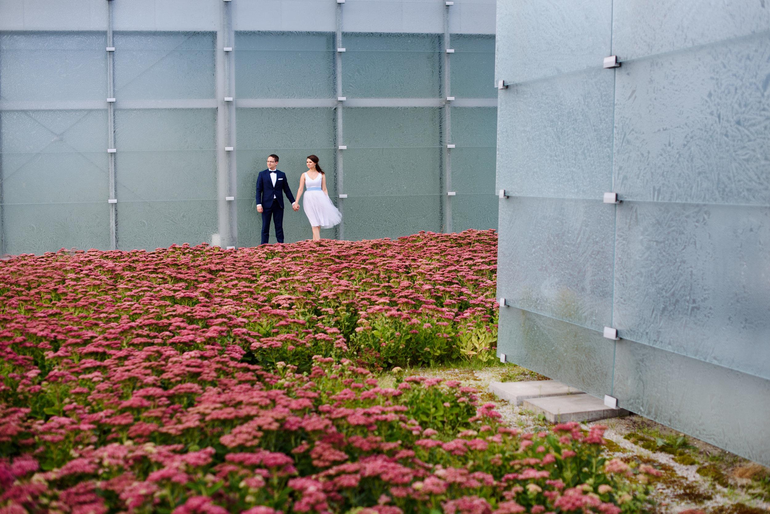 Tramwajem do ślubu - Kasia i Rinat - ślub w Katowicach