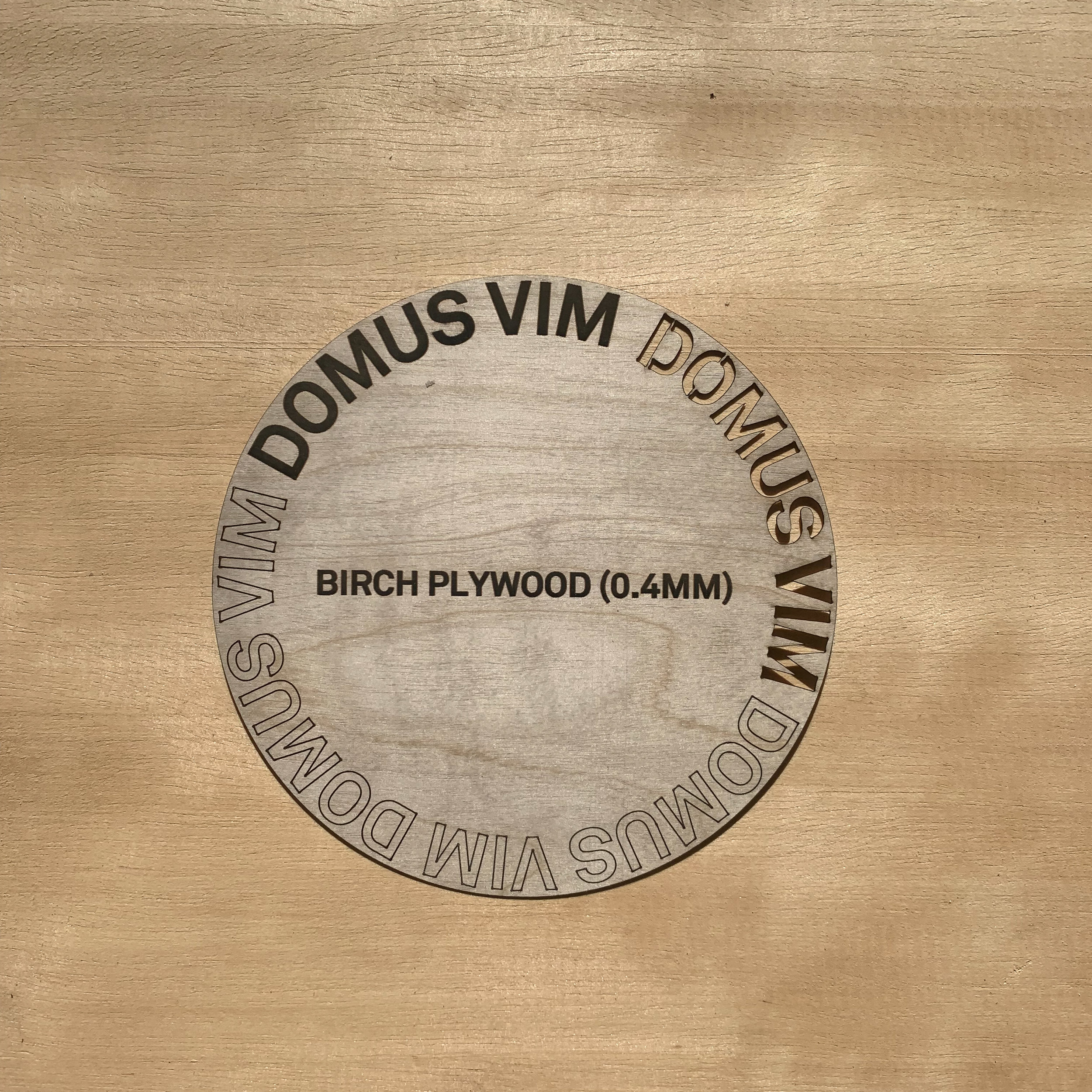 Birch Plywood 0.4mm