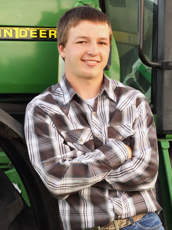 A senior at Wadena-Deer Creek High School, Goeden plans to study agricultural engineering at North Dakota State University in Fargo. (Courtesy photo)