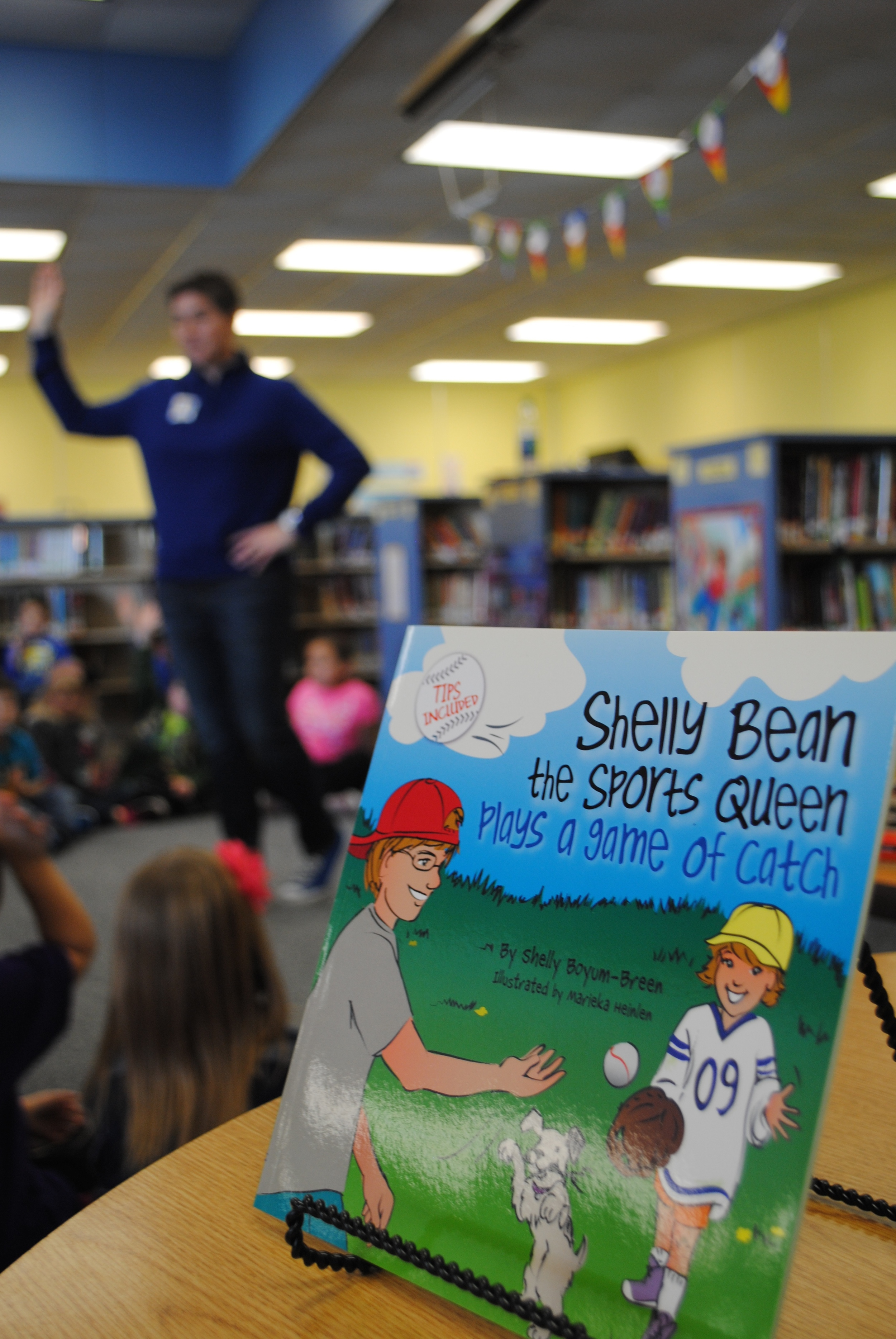 """Shelly Bean is the heroine of the """"Sports Queen"""" children's books. She learns how to play different sports, and once she's learned a sport, she puts a charm on her crown."""