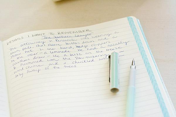 Keeping a blog journal