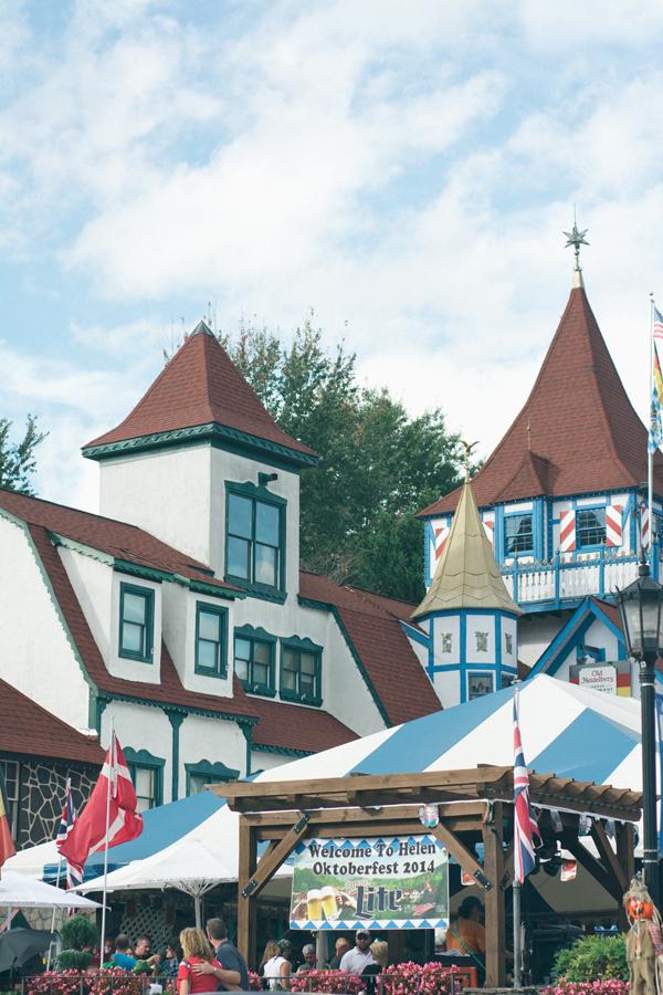 Oktoberfest in Helen 2014