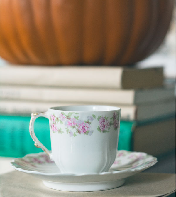 Vintage Tea Cup and Saucer from Polka Dot Rose
