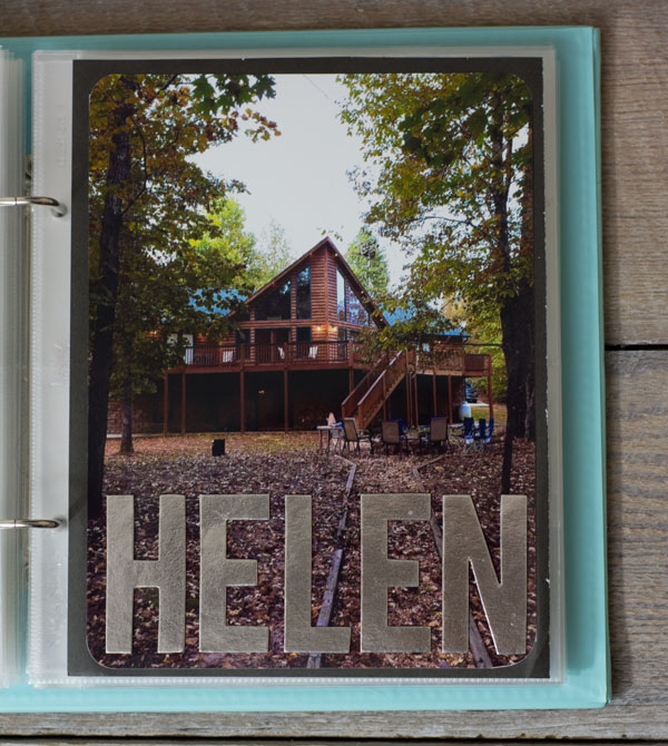 Project Life - Our Cabin Rental in Helen