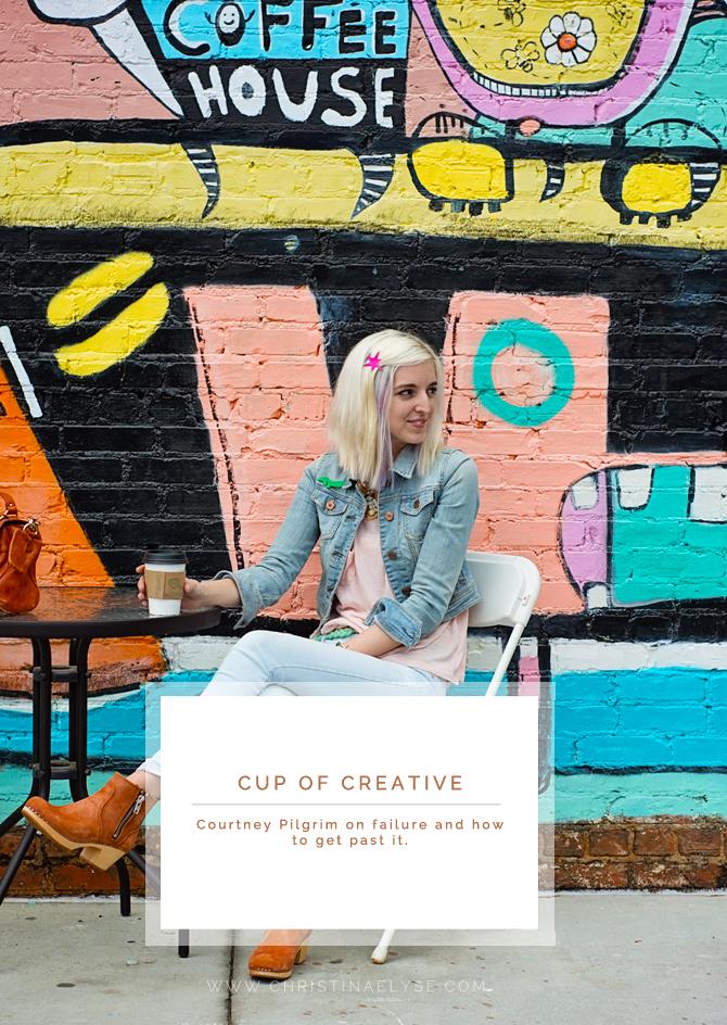 Courtney Pilgrim of myfriendcourt.com on failure and how she overcomes it as a creative entrepreneur