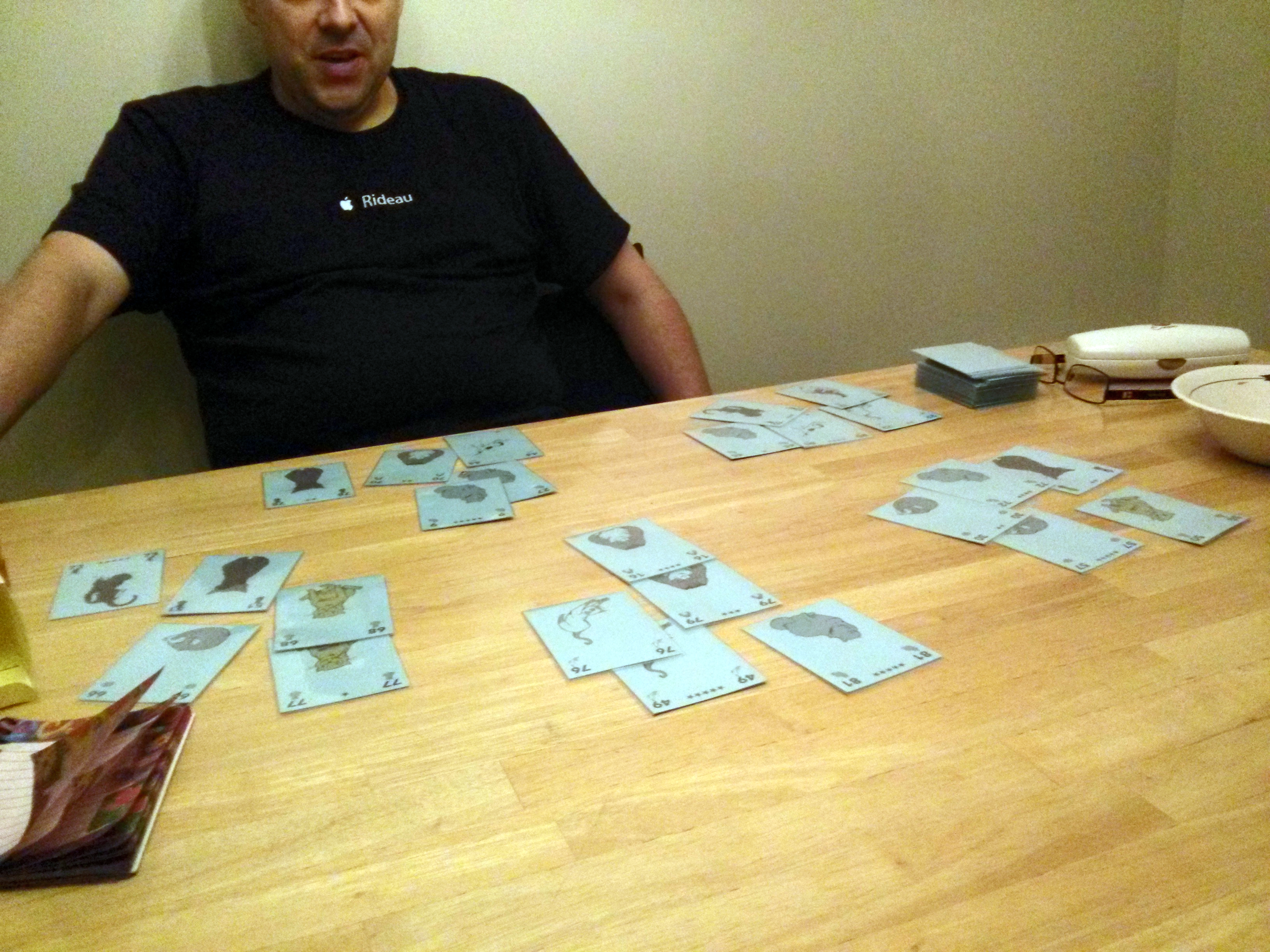 @revverm troubleshooting a five-player game of 9 Lives