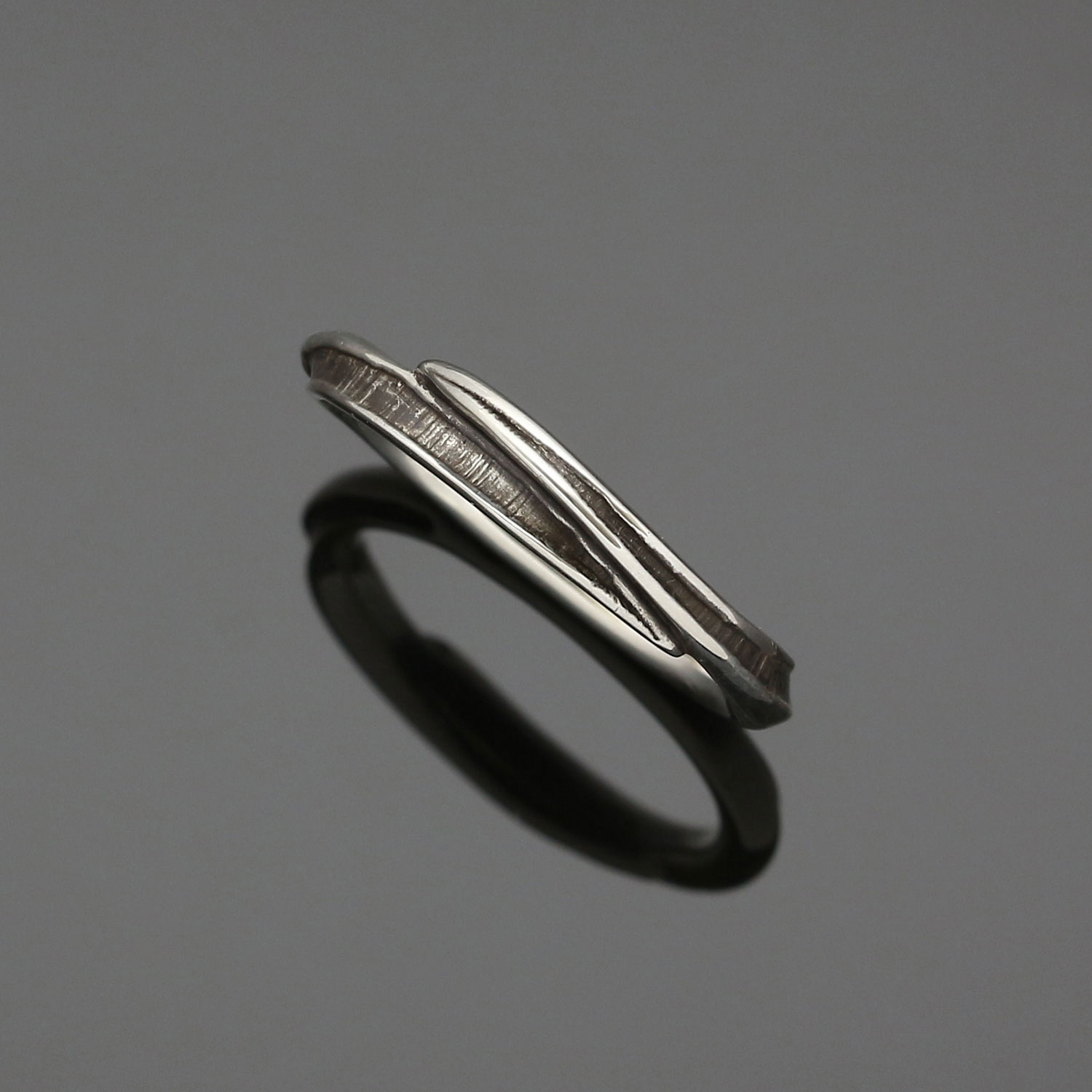 #149 Twisted Bark ring