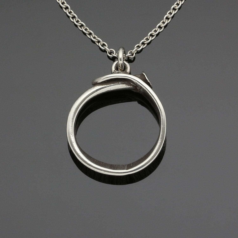 #127 Nail pendant