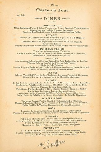 Menon, La nouvelle cuisine (1742)