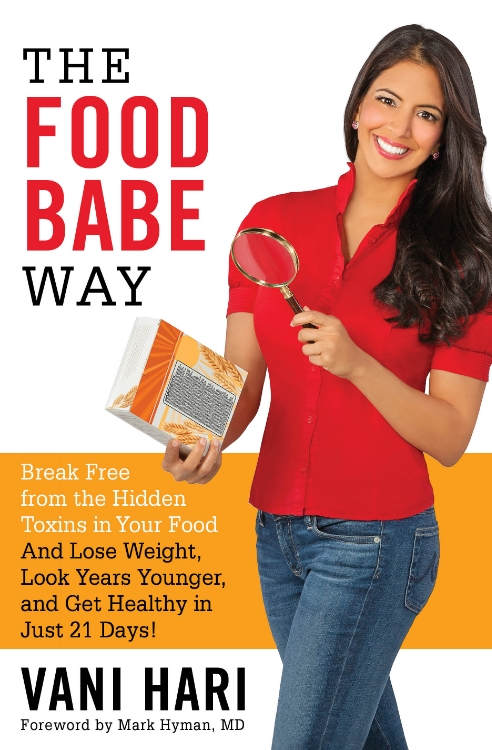 book cover of The Food Babe Way