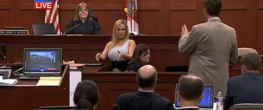 The judge is not amused by this