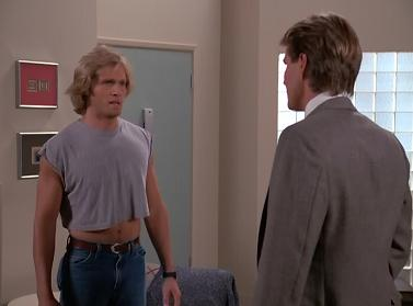 Nice shirt, Josh