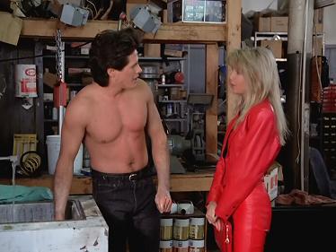 Nice leather outfit Sammy Jo!