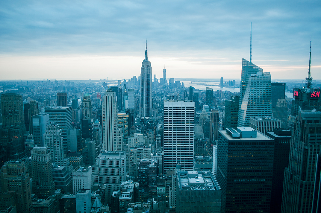 NYC Skyline - personal archives