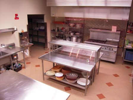 The kitchen.